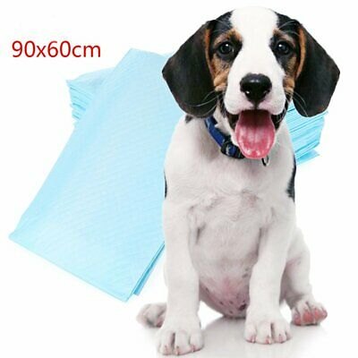 20pcs Dog Puppy Extra Large Training Pads Pad Wee Wee Floor Toilet Mats 60x90cm