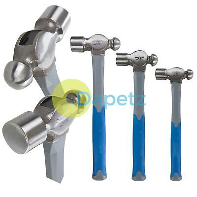 Ball Pein Hammer Set 3pc Ball Peen Machinist's TRP Hammers 8oz 16oz 32oz