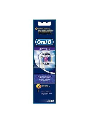 BRAUN ORAL B Sensitive 3d white floss action precision TOOTHBRUSH HEADS 2