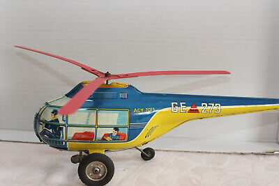 Blechspielzeug,Technofix Helikopter Nr. 273, 1949/50, Made in US-Zone