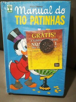 MANUAL DO TIO PATINHAS CON MONETA  - nuovo