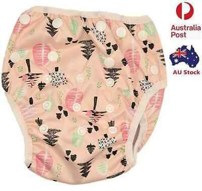 Baby Girl Girls Girly Swim Nappy Diaper Pants Nappies Swimmers Toddlers (S183)