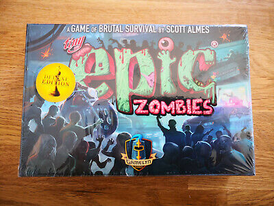 Spiel  Board Game  NEU  OVP Tiny Epic Zombies Kickstarter Deluxe Edition