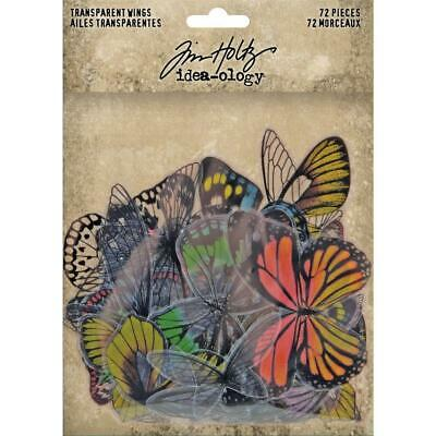 Tim Holtz Idea-Ology - Transparent Wings - 72 Pieces