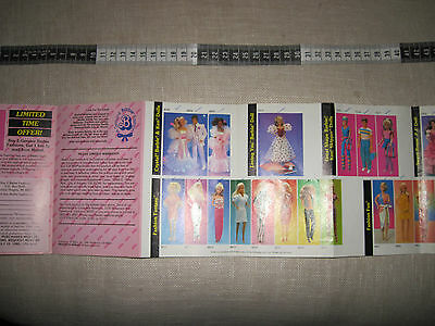 Barbie World Of Fashion 1984 Doll Fashion Booklet Mattel