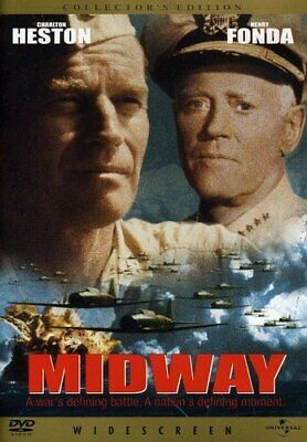 Midway Collector's Edition Charlton Heston Jack Smight DVD Action & Adventure