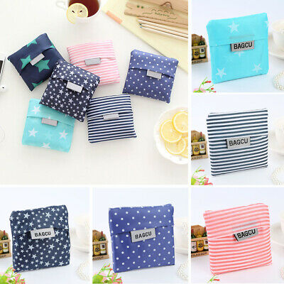 Cute Lady Foldable Recycle Bag Eco Reusable Shopping Bag Fruit Vegetable Grocery