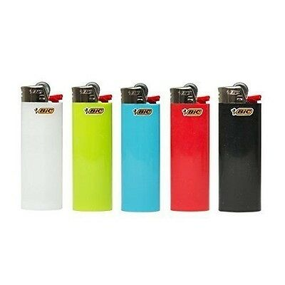 Bic Classic Cigarette Full Size Lighter 10 Piece Assorted Colors