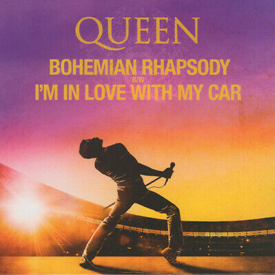 "Queen Bohemian Rhapsody RSD 2019 EU YELLOW PURPLE 7"" ""colour"" NEW/SEALED"