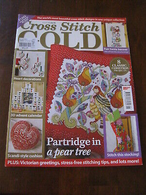 Cross Stitch Gold : Issue 105 : Inc: Partridge in a Pear Tree :Preloved