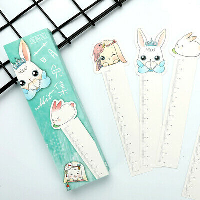 30 pcs/lot Cute Kawaii Rabbit Paper Bookmarks DIY Book Marks EB