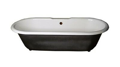 Primed Black Cast Iron Clawfoot Tub FEET NOT INCLUDED | Renovator's Supply