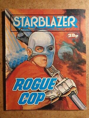Starblazer Comic No.212: Rogue Cop. Fantasy Fiction In Pictures 1988