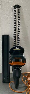 WORX 450w CORDED ELECTRIC HEDGE TRIMMER 45CM BLADE FULLY WORKING
