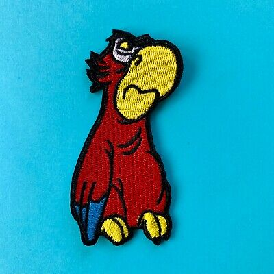 Disney Aladdin Iago Parrot Villain Embroidered Appliqué Patch Sew Or Iron On