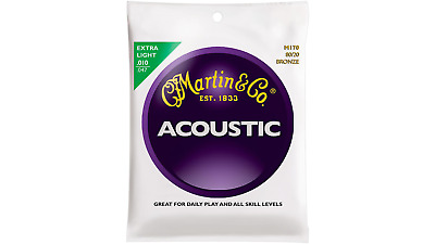 Martin Bronze Acoustic Strings Extra Lights 10 - 47