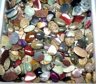 800Cts. Lot Wholesale Natural Cabochon Oval Pear Fancy Mix Gemstone 2941