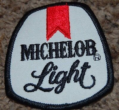 Michelob Light Beer Patch 3 1/8 X 2 3/4 1970's Era NOS