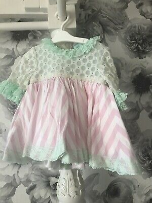 Baby Girls Spanish Nini Puffy Frilly Dress Age 2