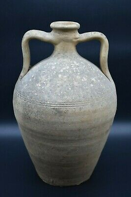 Ancient Greek Hellenistic period terracotta amphora C. 4th - 1st century BC
