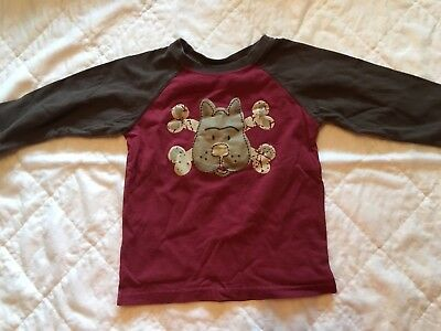 Infant Toddler  Graphic Long Sleeve T-Shirt Size -24m GUC Cute