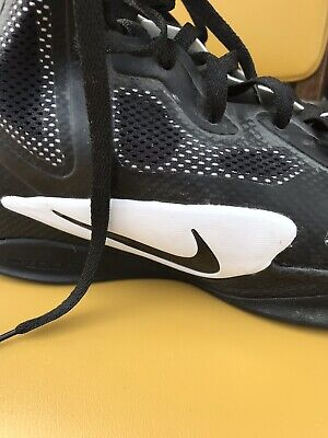 new arrival 31895 79a42 Nike Zoom Rival S8 Track Spikes Sprint Shoe Mens Size 12 Black Silver  806554 011.