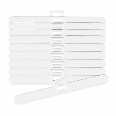 """Slat Top Hangers For Vertical Blind 89mm/3.5"""" Double Slot Type - 10 to 50 Packs"""