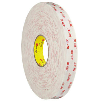 3M 4945 Double Sided VHB Tape, Strong, Waterproof, Bonds Plastic, Outdoor Use