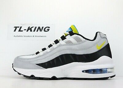eee053fb20d NIKE AIR MAX 95 GS Youth Wolf Grey Cyber Black 905348 017 Msrp  100 ...