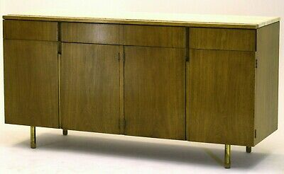 Two-Part Cabinet by Bert England for Johnson Furniture Forward Trend vintage