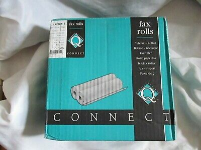 Fax Rolls 216 x 50 x 25 mm Connect Quality x 5 in Box for 6