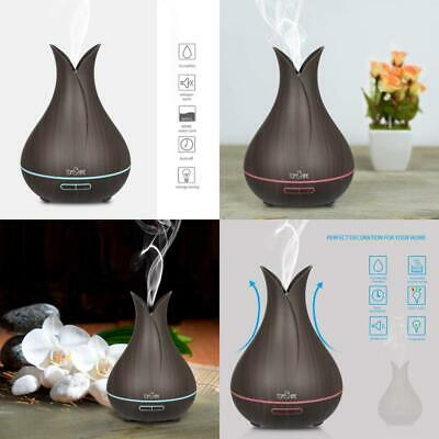 7 Colors Ultrasonic Aroma Essential Oil Diffuser 400ML Mist