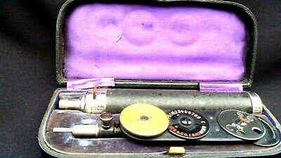 May Morton Ophthalmoscope--Complete In Original Box