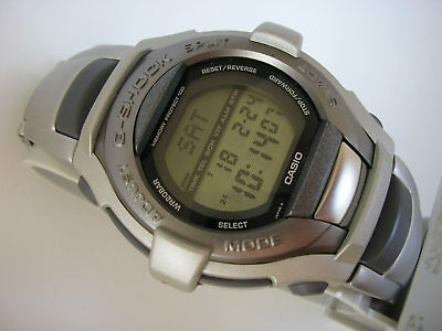 New Casio Vintage Lcd G-Cool G-Shock Watch Gt-000C-1, Module 1633, Rare Old 1997