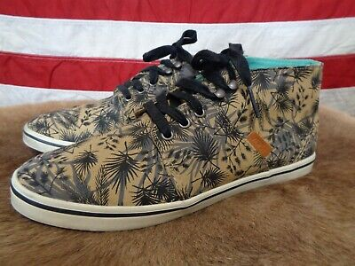 3e7414e3a1 Womens Vans Camryn Slim Palm Tree Camo Sneaker Size 8 limited edition shoes  mid