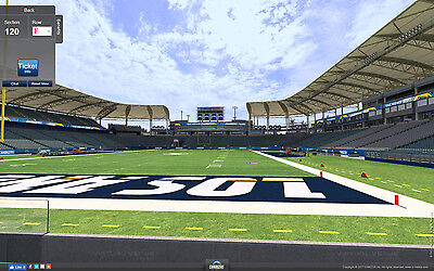 2 Indianapolis Colts vs Los Angeles Chargers Tickets 9/8 6th Row Field Sec 120