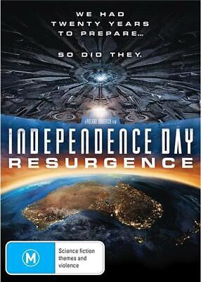 Independence Day - Resurgence (DVD, 2016), NEW SEALED REGION 4 AUSTRALIAN RELEAS