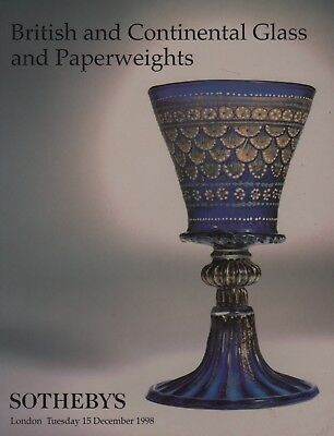 British & Continental Glass & Paperweights Auction Catalogue