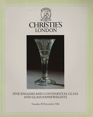 Fine English & Continental Glass & Glass Paperweights Auction Catalogue