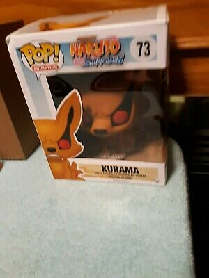 "New Funko Pop Animation Shonen Jump Naruto Shippuden;  Kurama 6"" #73"