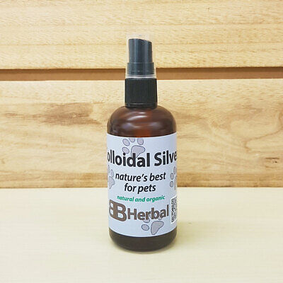 Colloidal Silver Spray for Animals - 100ml - 99.9% Purest Silver