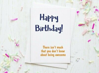 Funny Birthday Card Cards For Him Dad Brother Uncle