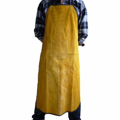 CN_ Yellow simulated Leather Material Welding Bag safety gear Apron Tool Kit