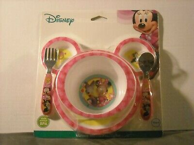 The First Years Disney Baby Minnie Mouse 4-Piece Feeding Set APR56