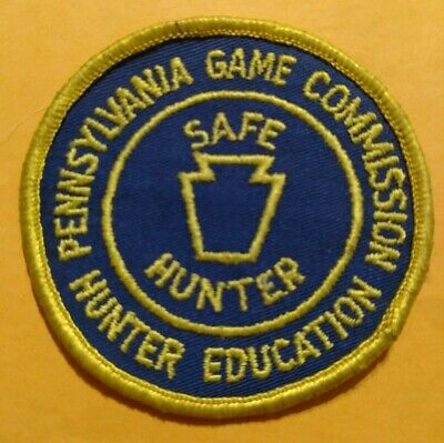NOS PA PENNSYLVANIA Game Commission Patches Lot Safe Hunter