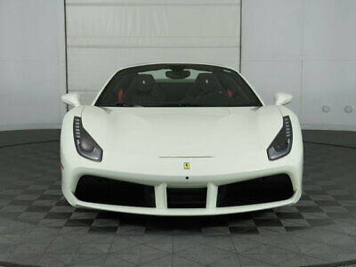 2018 Ferrari 488 Spider Convertible 2018 Ferrari 488 Spider, Bianco/Nero, Great Options, Racing Sts, Lots of Carbon