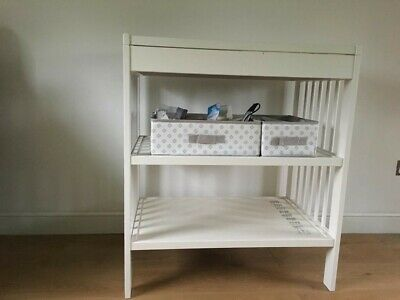 Baby changing table, White,  Ikea Gulliver (unused)