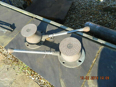 nautical antiques VINTAGE WINCHES