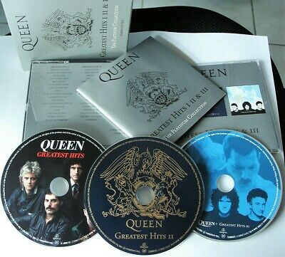 Queen The Platinum Collection Greatest Hits I-Ii-Iii 3 Cd Set 2000 Fatbox