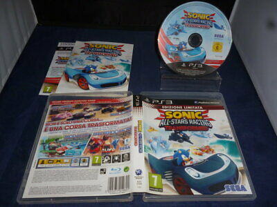 PS3 Sonic All Stars Racing Transformed - per Console Sony PlayStation 3 - PAL IT